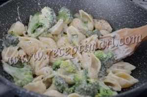 рецепт пасты с брокколи
