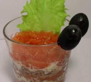 салат из грейпфута с тунцом
