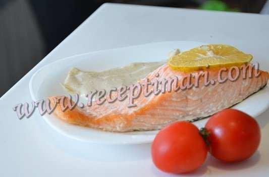 рецепт семги в сливочном соусе