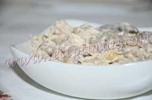 салат шерлок из куриной грудки