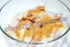заправляем солью перцем и минералкой