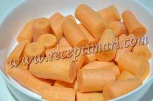 нарезать морковь брусочками