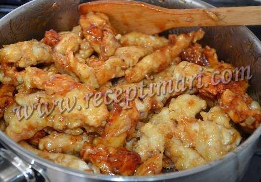 китайский соус грудка