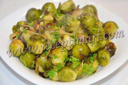 рецепт брюссельской капусты