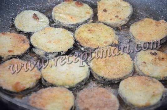 баклажаны в кукурузной муке
