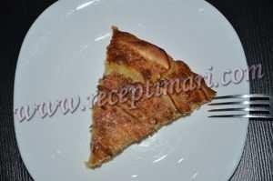 итальянсккий яблочный пирог