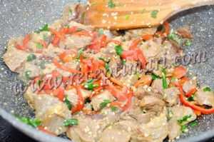 говядина болгарский перец кунжут