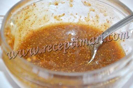 приготовим соус для рульки