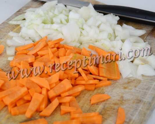 нарежем овощи