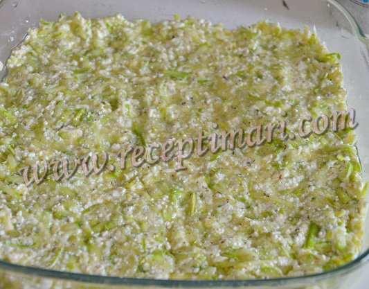 рецепт запеканки из кабачкоф