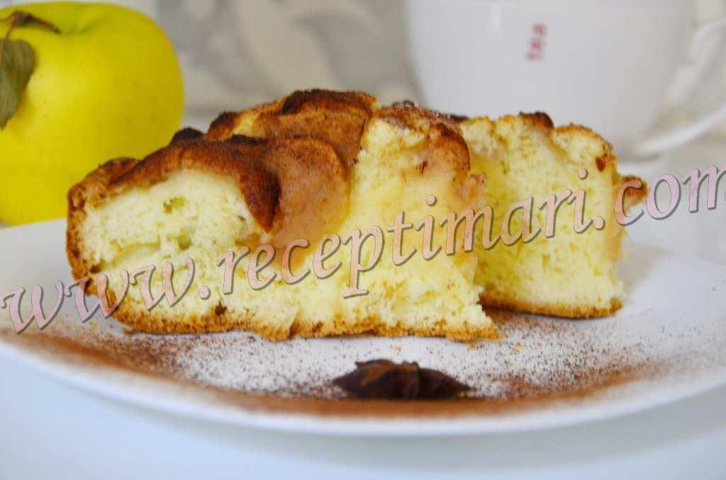 нежный пирог из яблок