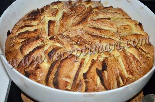 пирог с яблочной корочкой