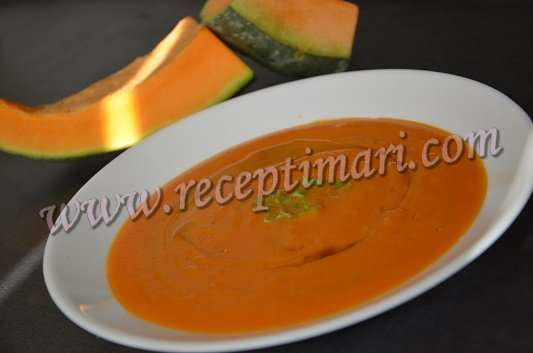 суп пюре из кабачка и тыквы