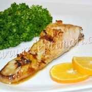 глазированный лосось