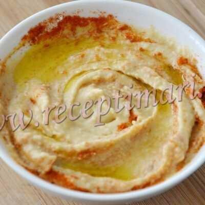 рецепт быстрого хумуса