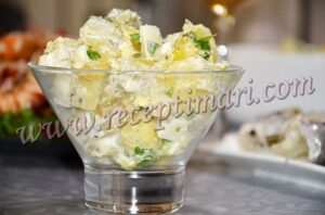 картофельныый салат гарнир
