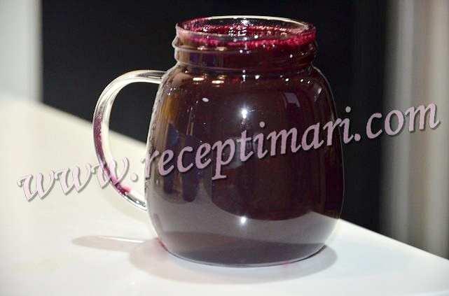 Легкий рецепт виноградного домашнего сока на зиму.