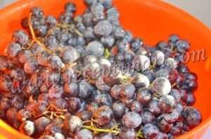 перебрать виноград