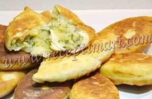 вкусные жареные пирожки тесто как пух