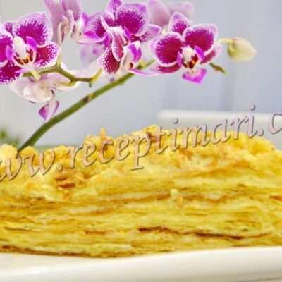 наполеон торт с заварным кремом самый вкусный