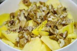 яблоки айва и орехи