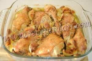 курица и 40 зубчиков чеснока