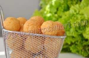 шарики из сыра во фритюре