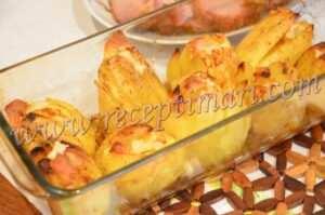 картофель под сыром
