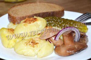 молодой картофель в духовке рецепт