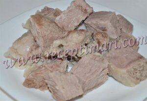 отварим мясо