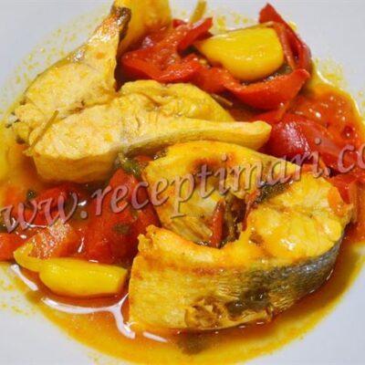 рыба по мароккански храме
