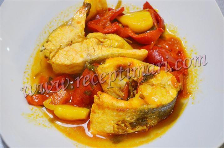 Рыба по-мароккански. Храйме