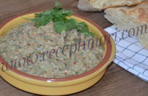 бабагануш из баклажанов классический рецепт